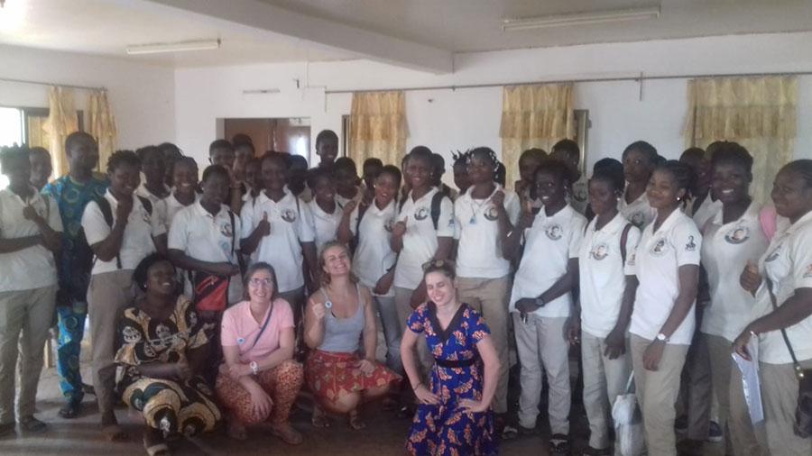 sensibilisation à la sexualité des jeunes à Parakou