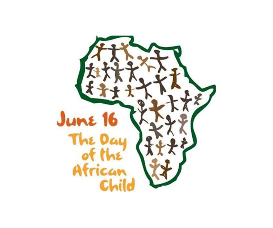 Dessin représentant la Journée de l'Enfant Africain